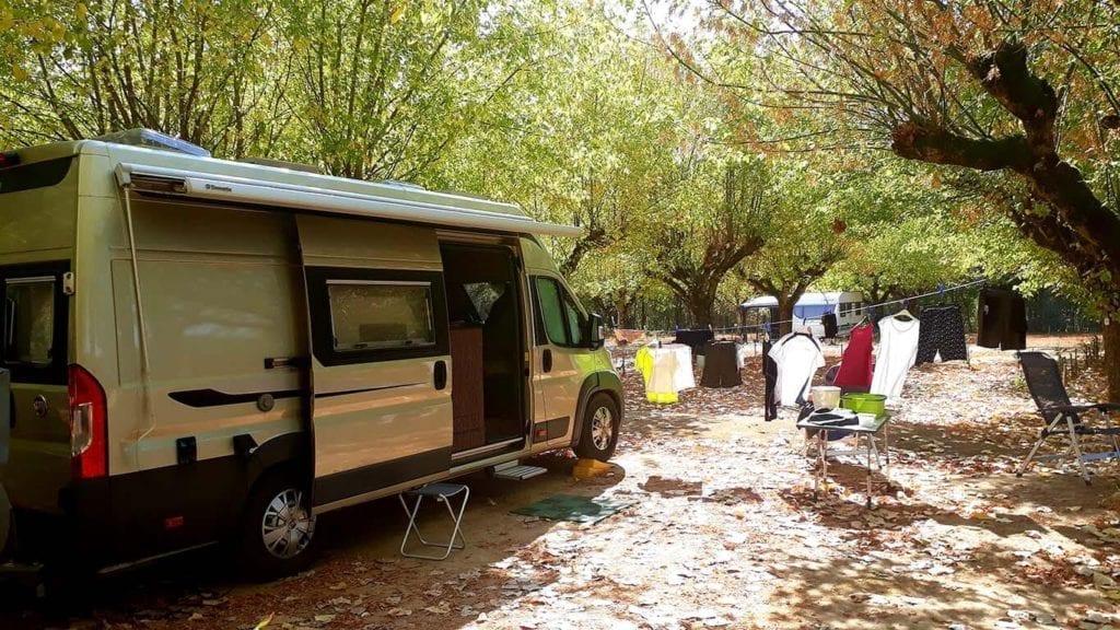 Fietsen jurgen Camping in Montricoux panne batterij