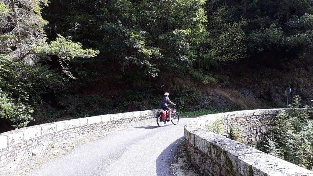 Fietsen jurgen Route naar Blesle
