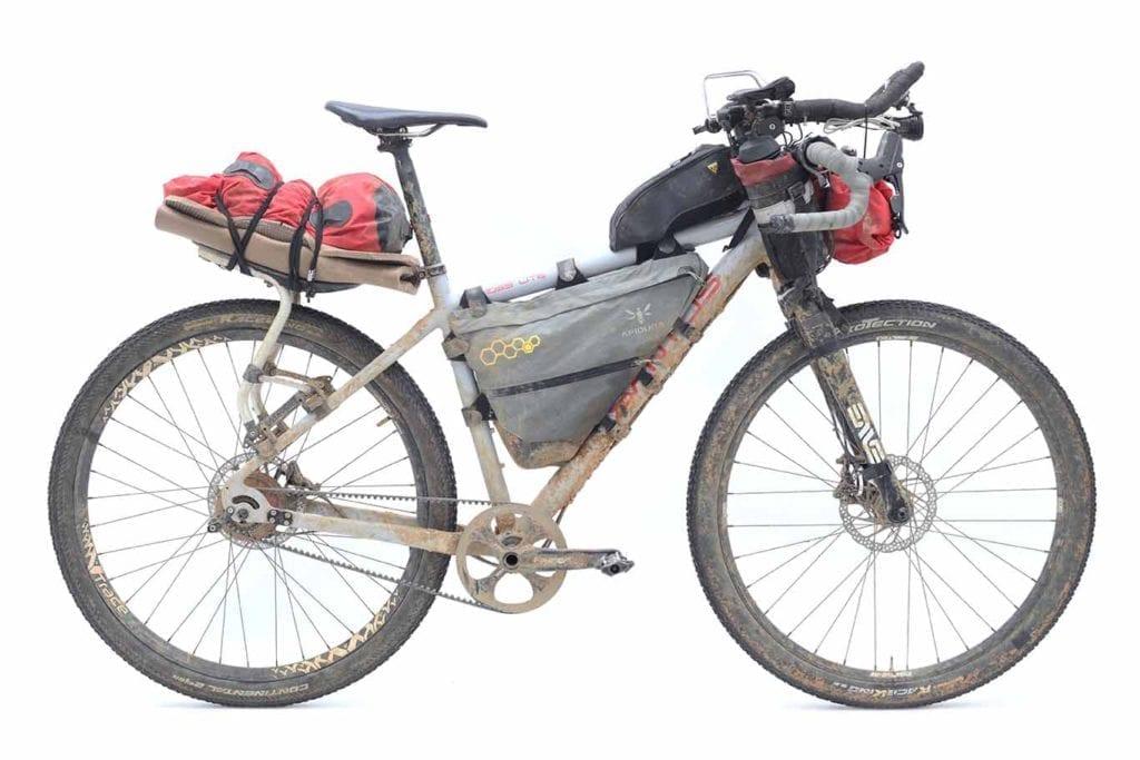 Santos bike bikepacking
